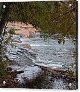 Hidden Brook Acrylic Print