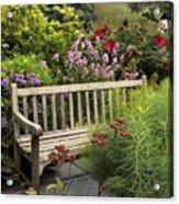 Hidden Garden Charm Acrylic Print