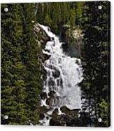 Hidden Falls Jenny Lake Acrylic Print