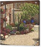 Hidden Garden Villa Di Camigliano Tuscany Acrylic Print