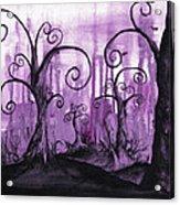 Hidden Hearts Acrylic Print