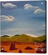 Hidden Mountain Acrylic Print
