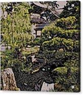 Hidden Pagoda Acrylic Print