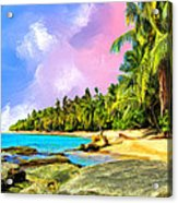 Hidden Paradise Acrylic Print