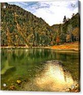 Hidden Paradise Suluklu Gol  Suluklu Lake Acrylic Print