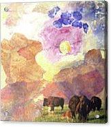 Hidden Plateau Acrylic Print
