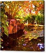 Hidden Pond Acrylic Print