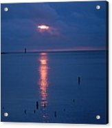 Hidden Sunrise Acrylic Print