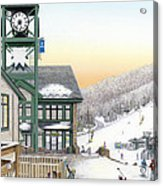 Hidden Valley Ski Resort Acrylic Print by Albert Puskaric