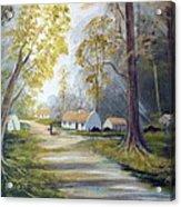 Hidden  Village  Ireland Acrylic Print