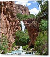 Hidden Waterfalls Acrylic Print