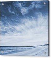 Higbee Beach Cyanotype Acrylic Print