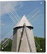 Higgins Farm Windmill Acrylic Print
