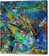 Higgs Field Activity -or- Paint Acrylic Print