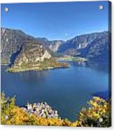 High Above Halstatt Acrylic Print