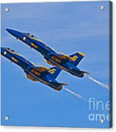 High Alpha- Blue Angels Acrylic Print
