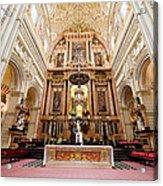 High Altar Of Cordoba Cathedral Acrylic Print