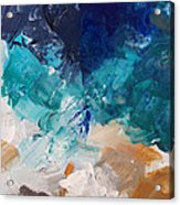 High As A Mountain- Contemporary Abstract Painting Acrylic Print