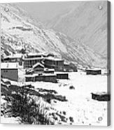 High Camp - The Himalayas - Nepal Acrylic Print