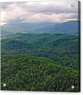High Country 3 In Wnc Acrylic Print