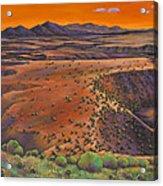 High Desert Evening Acrylic Print