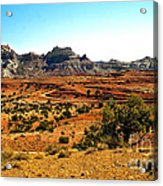 High Desert View Acrylic Print