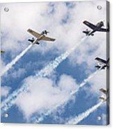 High Flying Five Acrylic Print