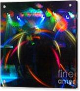 High Frequency Glow Acrylic Print