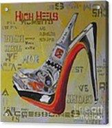 High Heels  Acrylic Print