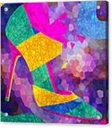 High Heels On Ropes Acrylic Print by Kenal Louis