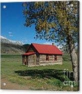 High Lonesome Ranch Acrylic Print
