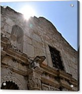 High Noon At The Alamo Acrylic Print