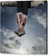 High Over The World Acrylic Print by Joana Kruse
