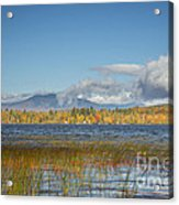 High Peaks Autumn Acrylic Print
