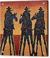 High Plains Drifters Acrylic Print