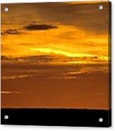 High Plains Sundown Acrylic Print