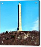 High Point Monument Nj Acrylic Print
