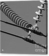 High Power Line - 4 Acrylic Print