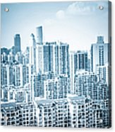 High Rise Residential Area Acrylic Print