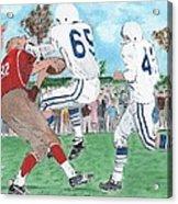 High School Football Acrylic Print