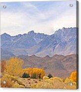 High Sierra Autumn Acrylic Print