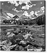 High Sierra Meadow Acrylic Print