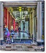 High Street Arcade Cardiff Acrylic Print