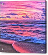 High Tide At San Onofre Acrylic Print