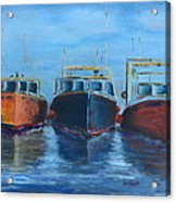 High Tide Breton Harbor Acrylic Print
