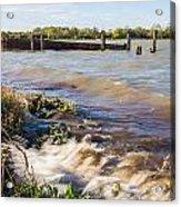 High Tide Acrylic Print by Dawn OConnor