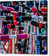 High Time To Buy A Scooter 1 Vertical Acrylic Print