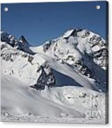 Highest Peak St Mortiz Acrylic Print