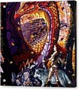 Highland Huntress Acrylic Print