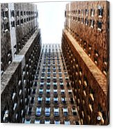 Highrise At Rittenhouse Square Acrylic Print